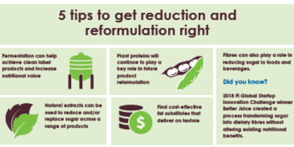5 tips to get reduction and reformulation right