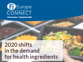 shift in the demand for health ingredients