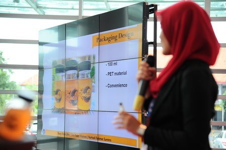 Presentation at Start-up Innovation F&B Products Competition