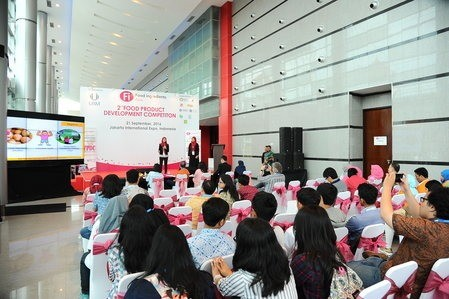 Ceremony at Start-up Innovation F&B Products Competition