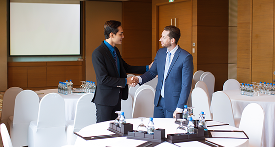 Arrange a business meeting in person onsite at Hi & Fi Asia-China