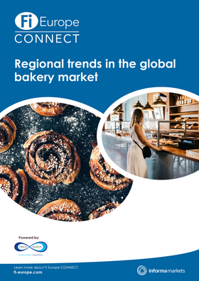 Regional trends in the global bakery market report cover