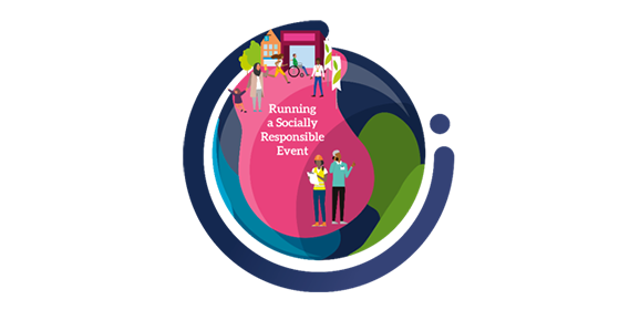 Run the event in a socially responsible way
